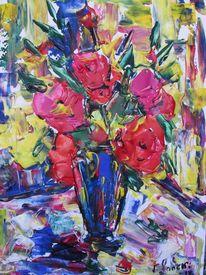 Malerei, Blumen, Liebe