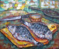 Malerei, Fische
