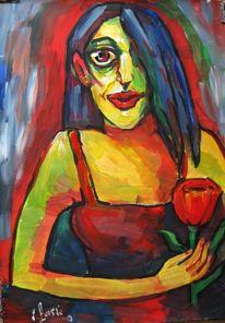 Malerei, Frau