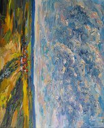 Malerei, Erde, Himmel