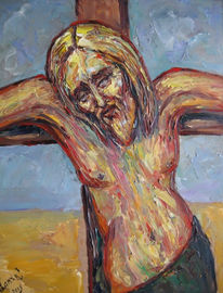 Malerei, Figural, Kreuzigung