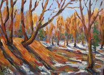 Malerei, März