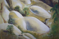 Felsen, Formen, Landschaft, Kappadokien