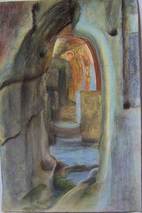 Christ, Wandmalerei, Verfolgung, Altar