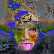 Selbstportrait, Menschen, Digital, Digitale kunst