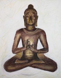 Buddha, Malerei, Figural