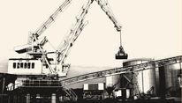 Industrie, Kran, Fotografie, Streben