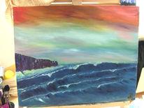 Himmel, Tsunami, Welle, Farben