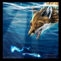 Fuchs, Unterwasser, Fisch, Culpeo