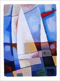 Segel, Malerei, Abstrakt,