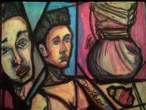 Curd stimmeder, Pastellmalerei, Zeichnungen,