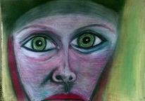 Zeichnungen, Surreal, Augen