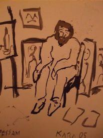 Atelier, Zeichnungen,