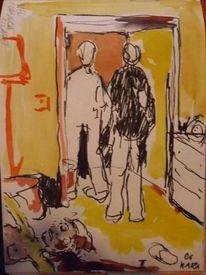 Mord, Hotel, Malerei