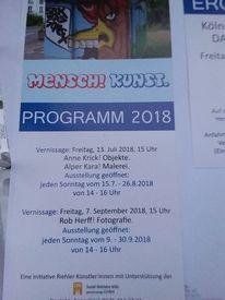 Einladung, Ausstellung, Pinnwand,