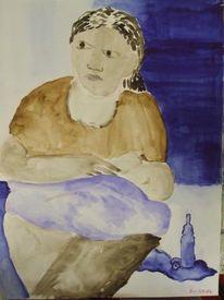 Mutter, Kind, Malerei, Menschen