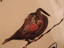 Vogel 4, Zeichnungen, Vogel