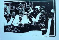 Zusammensein, Cafeteria, Bar, Gaststätte