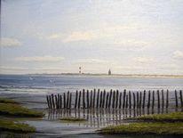 Nordsee, Ostfriesland, Friesland, Watt