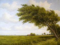 Ostfriesland, Friesland, Watt, Weite