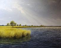 Ostfriesland, See, Friesland, Weite
