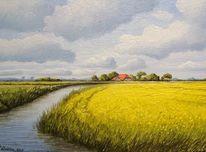 Friesland, Nordsee, Ostfriesland, Watt