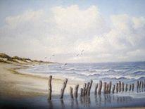 Ostfriesland, Watt, Weite, Friesland