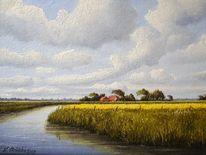 Friesland, Strübbe, Malerei, Weite