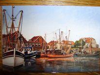 Friesland, Watt, Hafen, Weite
