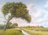 Friesland, Weite, Nordsee, Sand