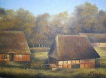 Malerei, Landschaft, Bremen