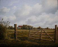 Wangerland, Tettens, Malerei