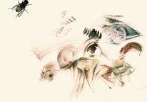 Fliege, Blasphemie, Surreal, Zeichnungen