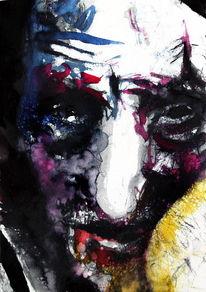 Gesicht, Abstrakt, Expressionismus, Menschen
