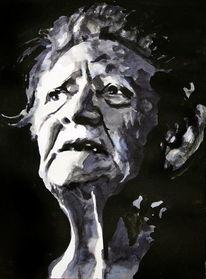Emotion, Blick, Portrait, Gesicht