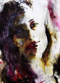Blick, Menschen, Portrait, Frau