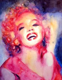 Lachen, Marilyn monroe, Blick, Schauspieler