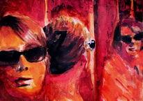 Gesicht, Rot, Menschen, Frau