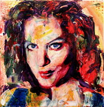 Gesicht, Farben, Menschen, Ausdruck