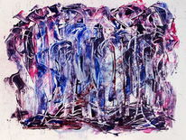 Abstrakt, Acrylmalerei, Modern, Farben