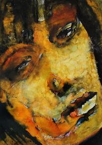 Menschen, Ausdruck, Frau, Portrait