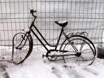 Winter, Fahrrad, Fotografie, Stillleben