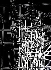 Gerüst, Druck, Chaos, Grafik