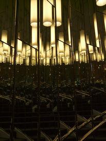 Lampe, Fotografie, Spiegel