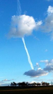 Wolkenbaum wolke himmel, Fotografie