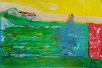 Tusche, Malerei, Abstrakt