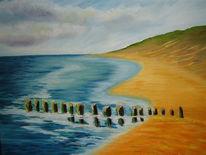 Meer, Wasser, Malerei,