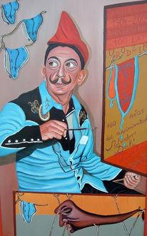 Dalí, Malerei, Figural, Hommage