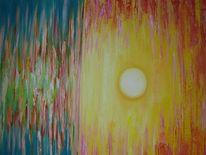 Sonnenuntergang, Malerei, Teneriffa