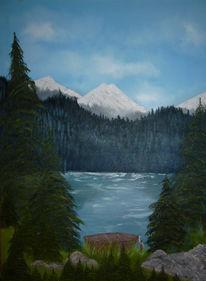 Malerei, Waldsee